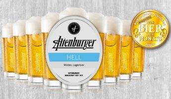 Bier des Monats August 2017: Altenburger Hell