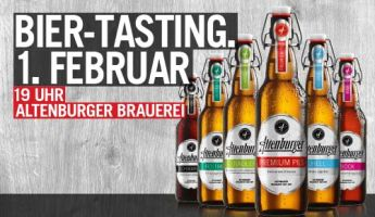 Bock auf Altenburger? Lernt die Vielseitigkeit unserer Biere kennen!