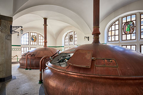 Kupferkessel Altenburger Brauerei