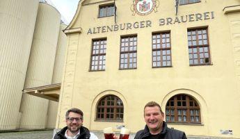 Ein kupferroter Biergenuss: Neues Saisonbier aus der Altenburger Brauerei