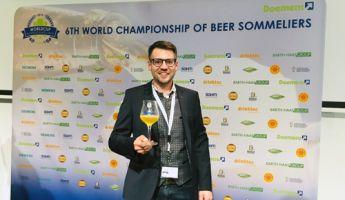 Bastian Leikeim von der Altenburger Brauerei ist 12. bester Biersommelier der Welt