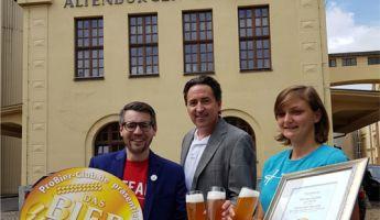 Altenburger Weißbier zum Bier des Monats Juni prämiert