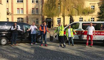 Altenburger Brauerei und Bäckerei Laudenbach päppeln die Fahrer des ärztlichen Bereitschaftsdienstes auf