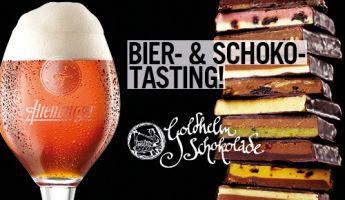 Bier & Schokolade –Tasting in der Altenburger Brauerei