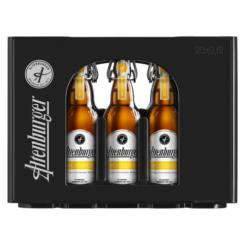 Altenburger Weissbier Crate