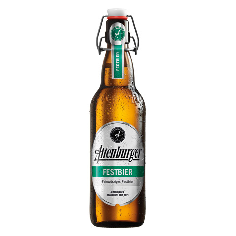 Altenburger Festbier Flasche
