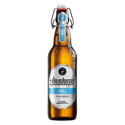 Altenburger Helles Flasche