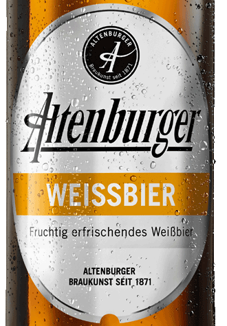 Label Altenburger Weissbier