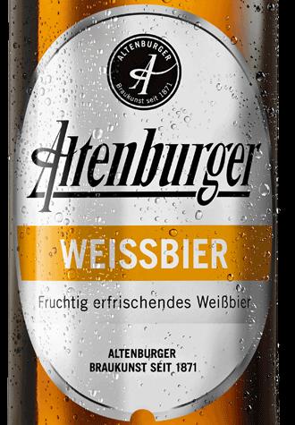 Etikett Altenburger Weissbier