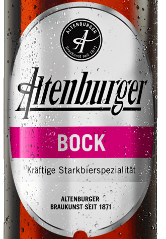 Label Altenburger Bock
