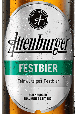Label Altenburger Festbier