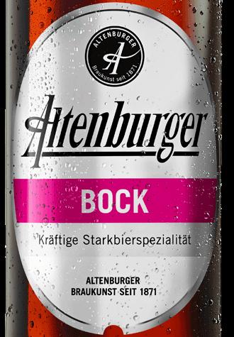 étiquette Altenburger Bock