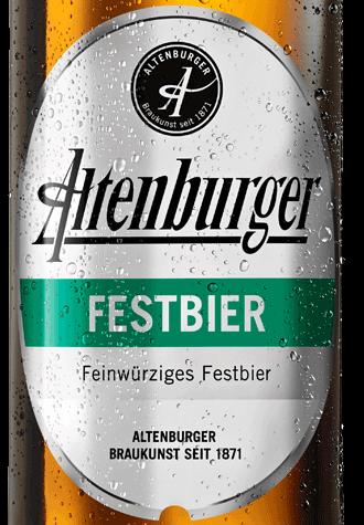 étiquette Altenburger Festbier