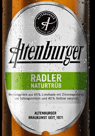 étiquette Altenburger Radler Naturtrüb