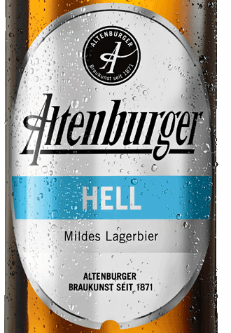 Etikett Altenburger Hell