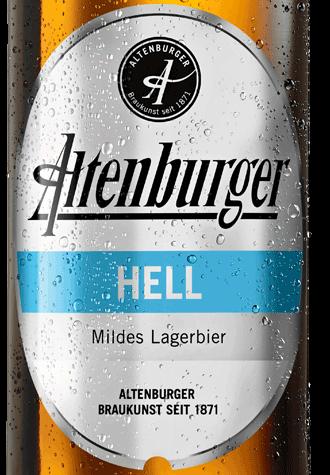 Etikett Altenburger Hell
